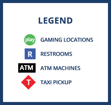 Crown Bay Center Map Legend