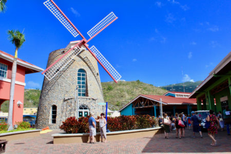 Virgin Islands Crown Bay Windmill